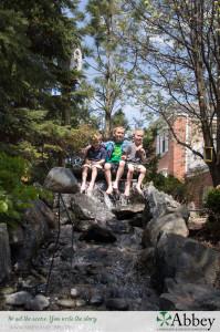 It's not about a waterfall – Landscape Design in Skokie